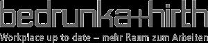 bedrunka_hirth_gray_logo